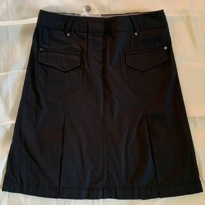 Esprit Black A-line Skirt with Pockets - NWT